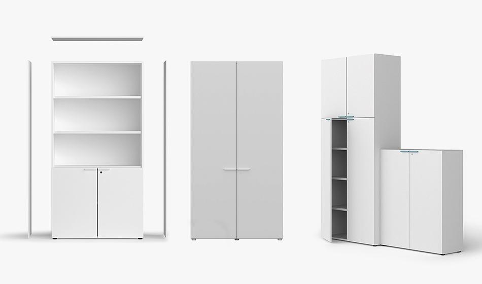 rangement armoire bureaux professionnel bralco aba