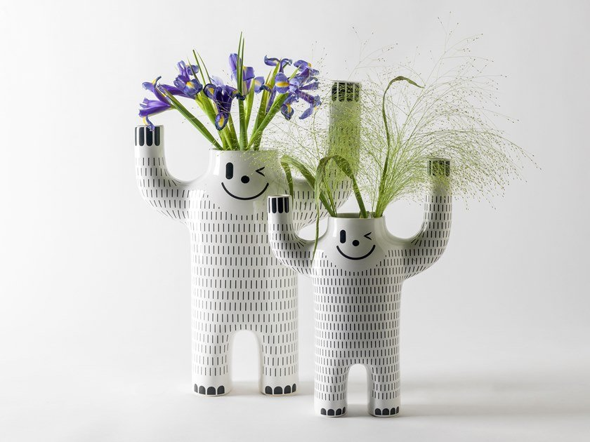 décoration accessoire vase B.D. Barcelona Happy Susto Yeti vases