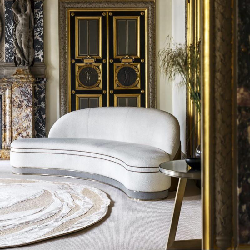 canapé intérieur blanc manteaux L