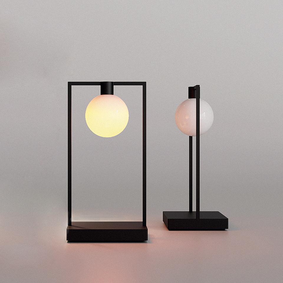 lampe de table curiosity artemide