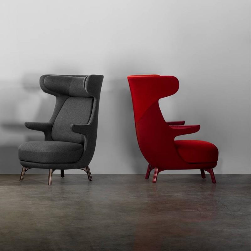 fauteuil intérieur salon Dino hayon edition B.D. Barcelona couleur