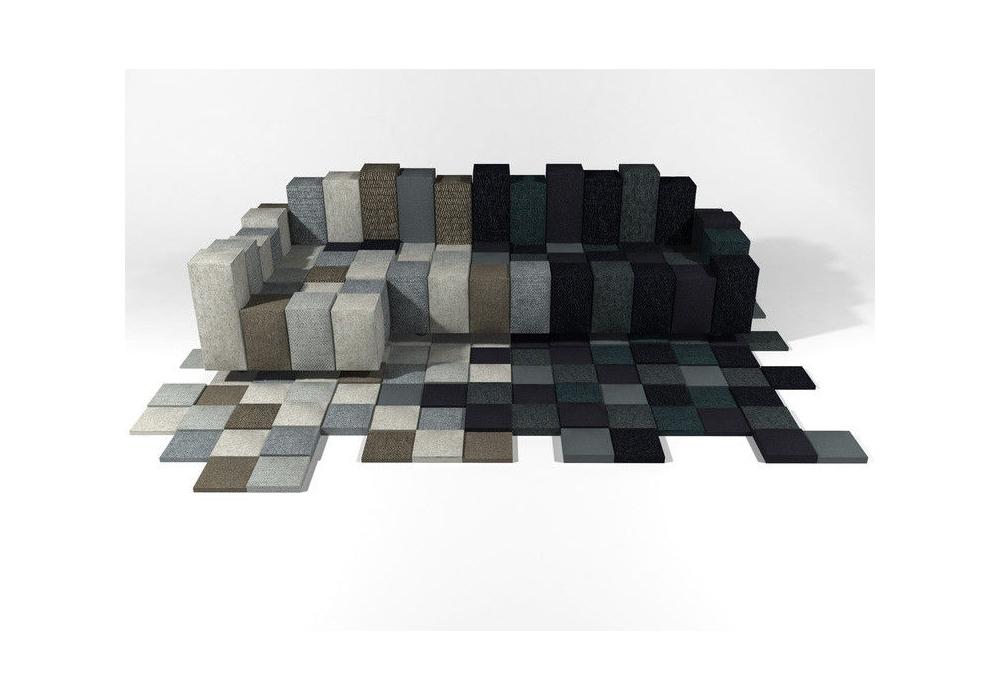 tapis géométrique rug