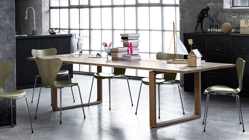 table de repas essay collection fritz hansen