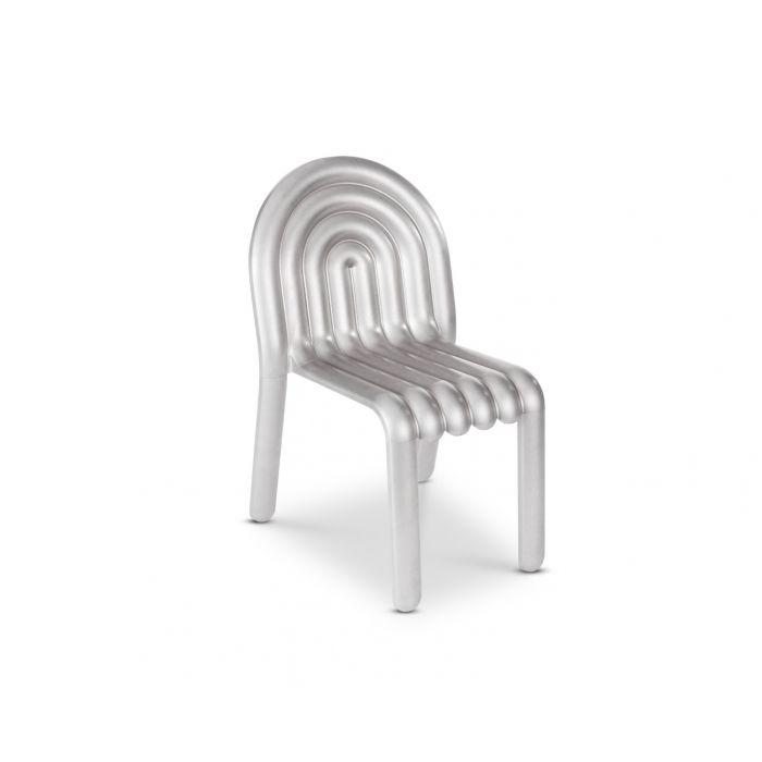 chaise aluminium tom Dixon hydro chair