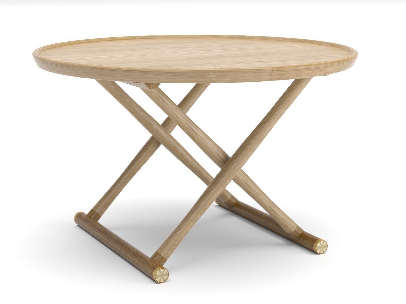 table basse égyptian table bois carl hansen