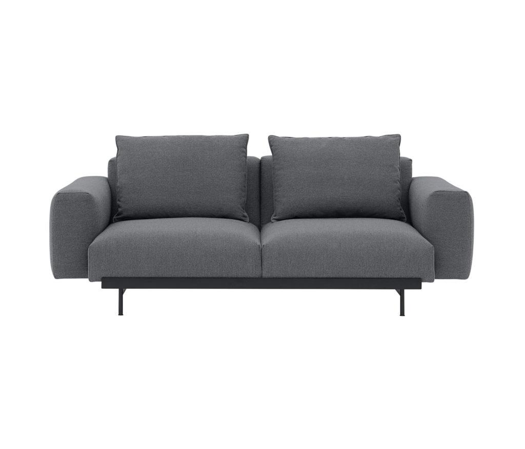 canapé 2 places salon in situ modular sofa