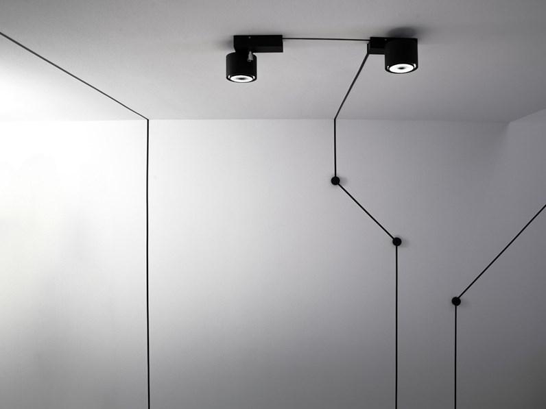 luminaire applique endless Davide groppi noir