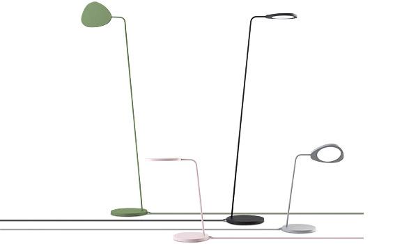 lampadaire luminaire lampe de sol leaf floor lamp muuto