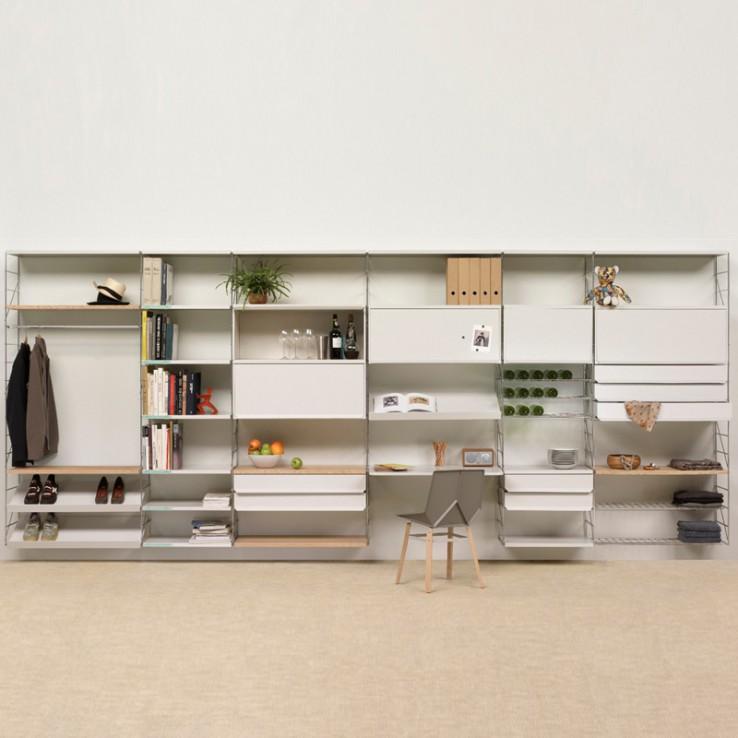 bibliothèque rangement bureaux
