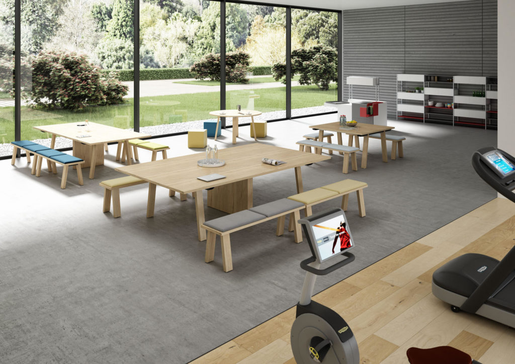 bureaux table bralco Take-Off Evo / Country / Farm
