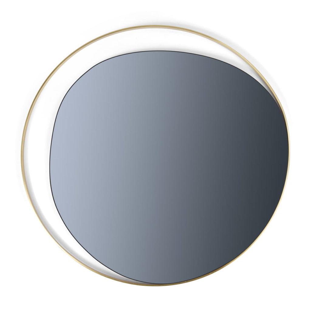 Accessoire miroir ellipse red edition
