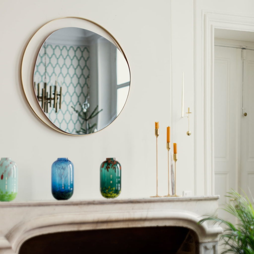 miroir ellipse red edition accessoire