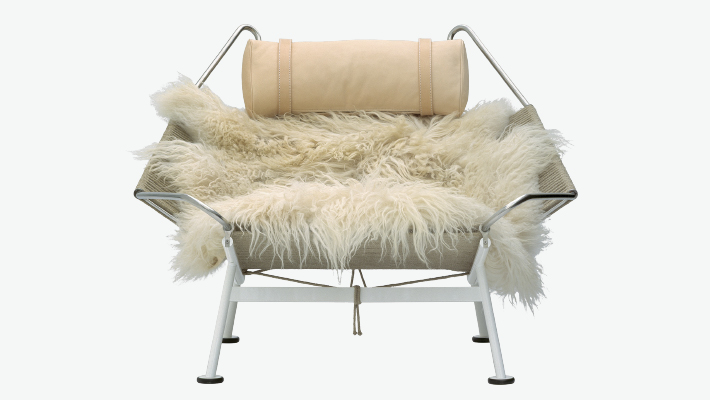 mouton fauteuil THE FLAG HALYARD CHAIR pp moebler