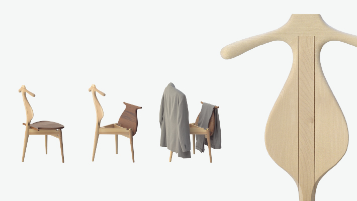 the valet chair pp moebler chaise interieur