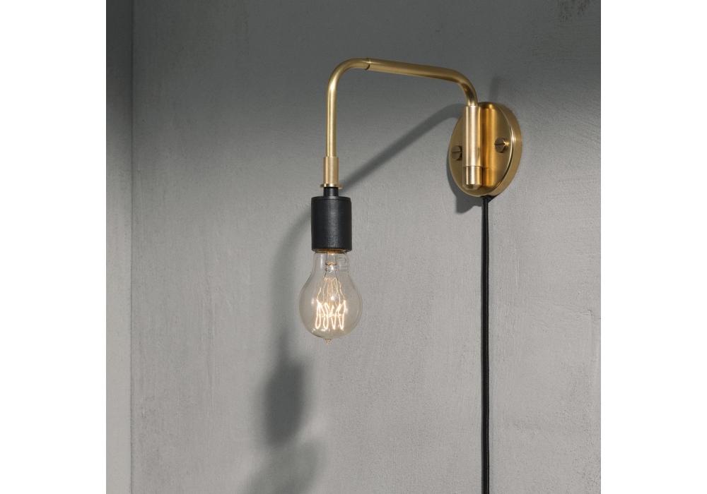 applique staple wall lamp menu