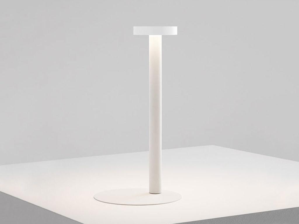 lampe de table blanche tetatet