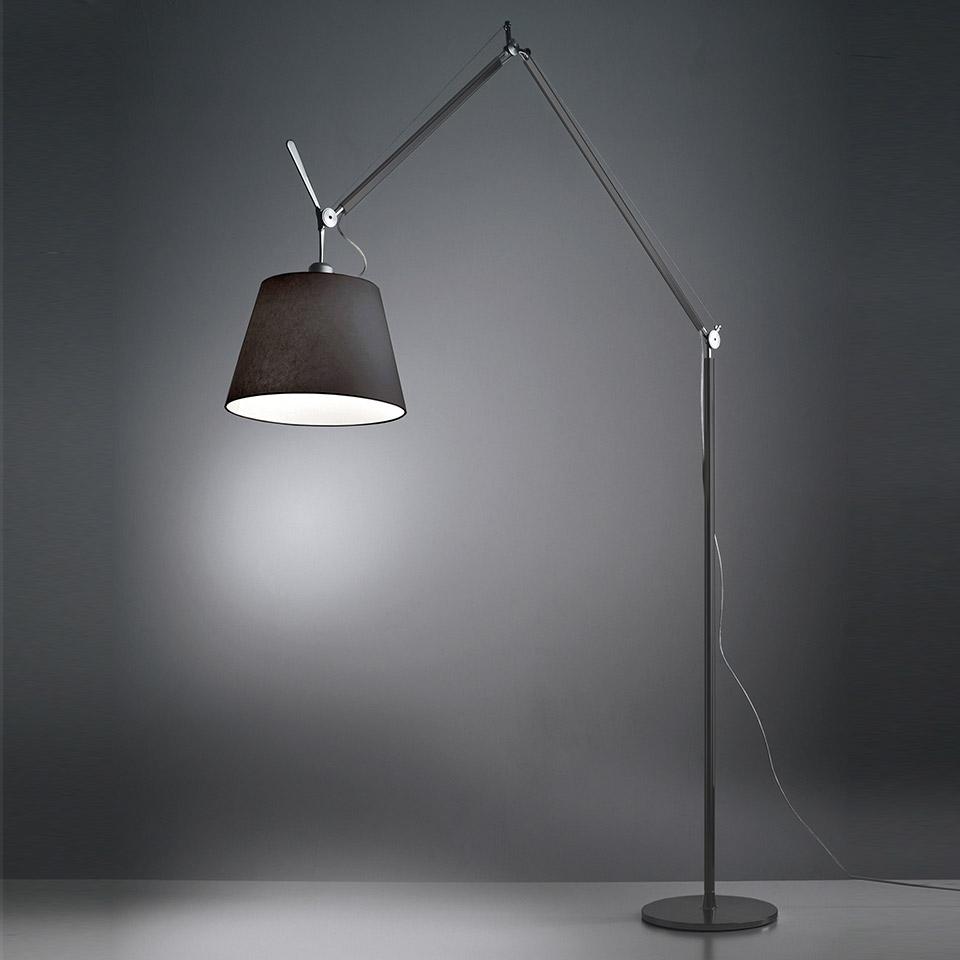 lampe de sol lampadaire artemide tolomeo mega floor